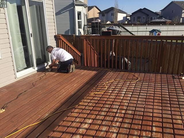 Building a Deck in Your Home